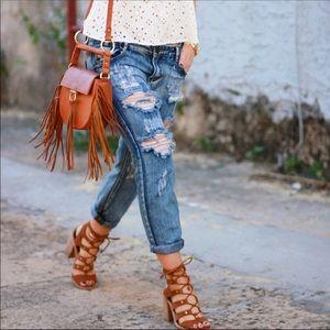 TOBI destroyer skinny jeans